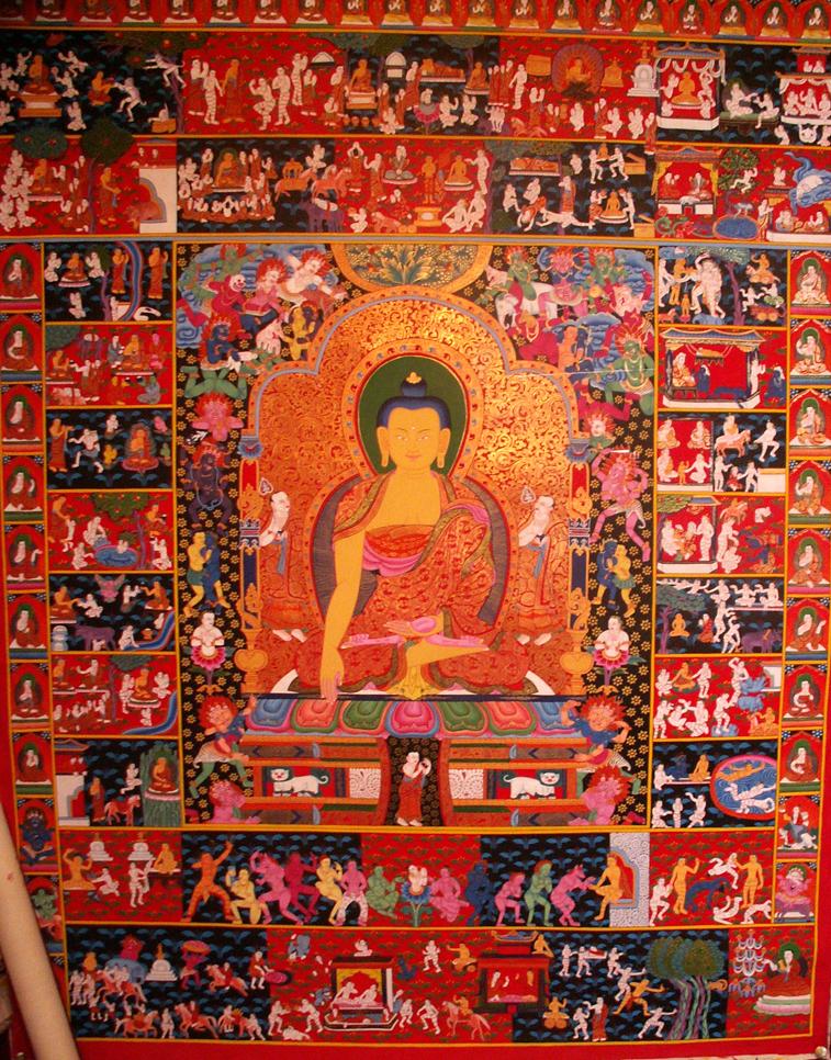 Buddha elusündmused